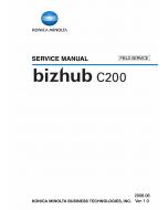 Konica-Minolta bizhub C200 FIELD-SERVICE Service Manual