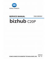 Konica-Minolta bizhub C20P FIELD-SERVICE Service Manual