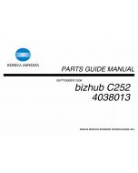 Konica-Minolta bizhub C252 Parts Manual