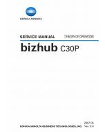 Konica-Minolta bizhub C30P THEORY-OPERATION Service Manual