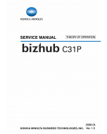 Konica-Minolta bizhub C31P THEORY-OPERATION Service Manual