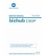 Konica-Minolta bizhub C352P FIELD-SERVICE Service Manual