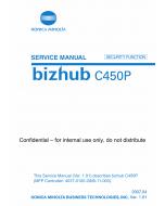 Konica-Minolta bizhub C450P SECURITY-FUNCTION Service Manual