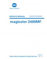 Konica-Minolta magicolor 2490MF THEORY-OPERATION Service Manual