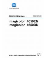 Konica-Minolta magicolor 4650DN 4650EN FIELD-SERVICE Service Manual