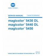 Konica-Minolta magicolor 5430DL 5440DL 5450 THEORY-OPERATION Service Manual