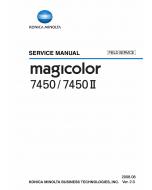 Konica-Minolta magicolor 7450 7450II FIELD-SERVICE Service Manual