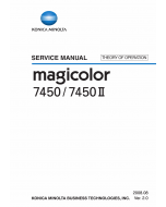 Konica-Minolta magicolor 7450 7450II THEORY-OPERATION Service Manual