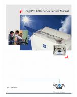 Konica-Minolta pagepro 1200 Parts Manual
