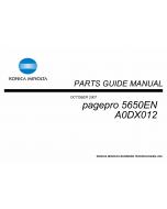 Konica-Minolta pagepro 5650EN Parts Manual