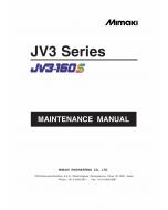 MIMAKI JV3 130S 160S MAINTENANCE Service Manual