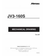 MIMAKI JV3 160S MECHANICAL DRAWING Parts Manual