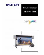 MUTOH ValueJet VJ 1304 Service Manual