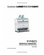 RICOH Aficio 240W B125 B275 Service Manual