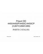RICOH Aficio DD-4450 DD4450P DD4450CP C277 C278 C279 Parts Catalog