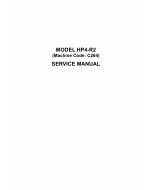 RICOH Aficio DX-4542 4542C 4542CP 4543C 4543CP C264 Service Manual