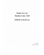 RICOH Aficio DX-4640PD C269 Service Manual