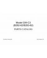 RICOH Aficio MP-1811L MP2011L B282-62 B283-62 Parts Catalog