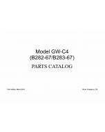 RICOH Aficio MP-1812L MP2012L B282-67 B262-68 B283-67 B283-68 Parts Catalog
