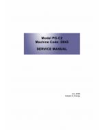 RICOH Aficio MP-C1800 D045 Service Manual