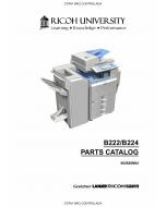 RICOH Aficio MP-C3500 C4500 B222 B224 Parts Catalog