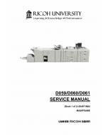 RICOH Aficio Pro-907EX 1107EX 1357EX D059 D060 D061 Service Manual