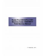 RICOH Aficio Pro-C901 C901S D095 M077 Service Manual