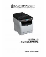 RICOH Aficio SP-3500DF 3510SF M118 M119 Service Manual