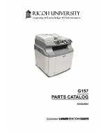 RICOH Aficio SP-C210SF G157 Parts Catalog