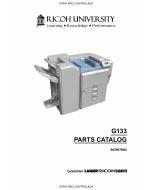 RICOH Aficio SP-C811DN G133 Parts Catalog
