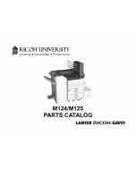 RICOH Aficio SP-C830DN C831DN M124 M125 Parts Catalog