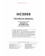 RISO HC 5000 TECHNICAL Service Manual