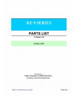 RISO RZ 990 997 970 977 970 977 RV9690 RV9698 Parts List Manual