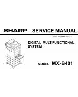 SHARP MX B401P Service Manual