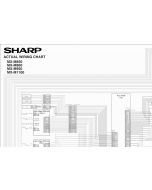 SHARP MX M850 M860 M950 M1100 Wiring Chart Diagrams