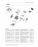 Samsung Mono-Laser-Printer ML-551x 651x Parts Manual
