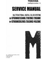 TOSHIBA e-STUDIO 2330C 2820C 2830C 3520C 3530C 4520C Service Manual