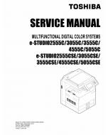 TOSHIBA e-STUDIO 2555C 3055C 3555C 4555C 5055C CSE Service Manual