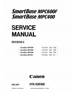 Canon SmartBase MPC600F MPC400 Service Manual