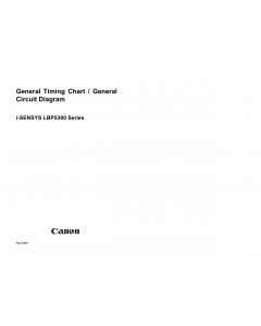 Canon imageCLASS LBP-5300 5360 Circuit Diagram