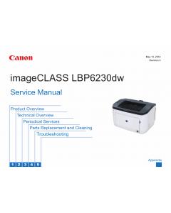 Canon imageCLASS LBP-6200 6230 6240 Service Manual