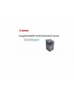 Canon imageRUNNER-iR 2520 2525 2530 Circuit Diagram