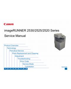 Canon imageRUNNER-iR 2520 2525 2530 i Service Manual