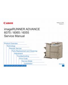 Canon imageRUNNER-iR 6055 6065 6075 i Service Manual