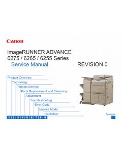 Canon imageRUNNER-iR 6255 6265 6275 i Service Manual