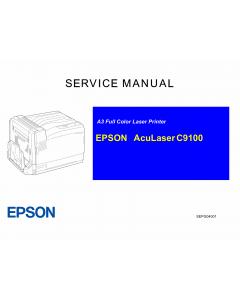 EPSON AcuLaser C9100 Service Manual