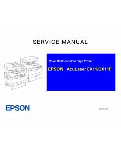 EPSON AcuLaser CX11 CX11F Service Manual