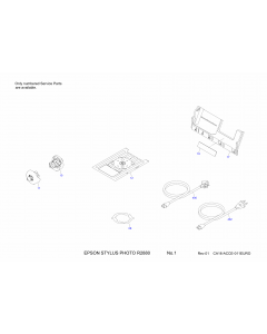 EPSON StylusPhoto R2880 Parts Manual
