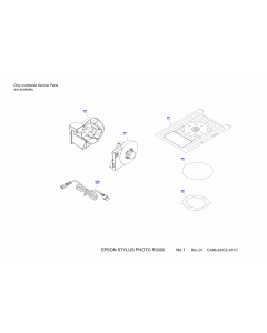 EPSON StylusPhoto R3000 Parts Manual