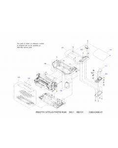 EPSON StylusPhoto R320 Parts Manual